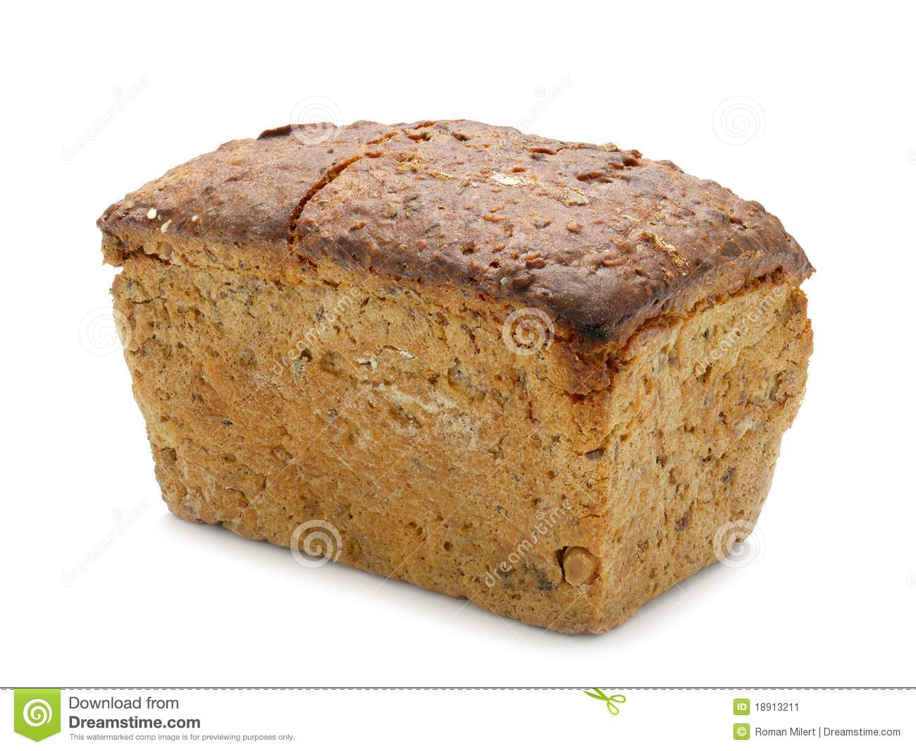 Wholemeal ψωμιού
