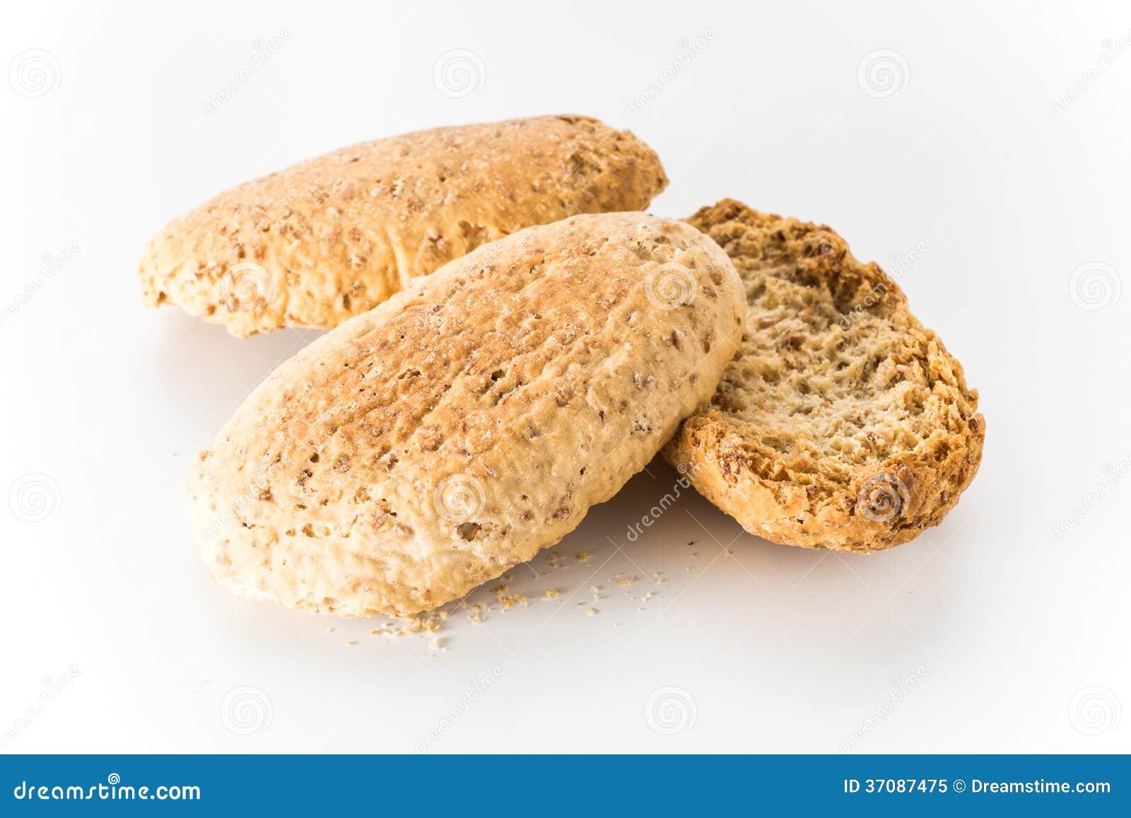 Download Wholewheat Chips W Bielu Odizolowywającym Obraz Stock - Obraz złożonej z odżywczy, śniadanie: 37087475