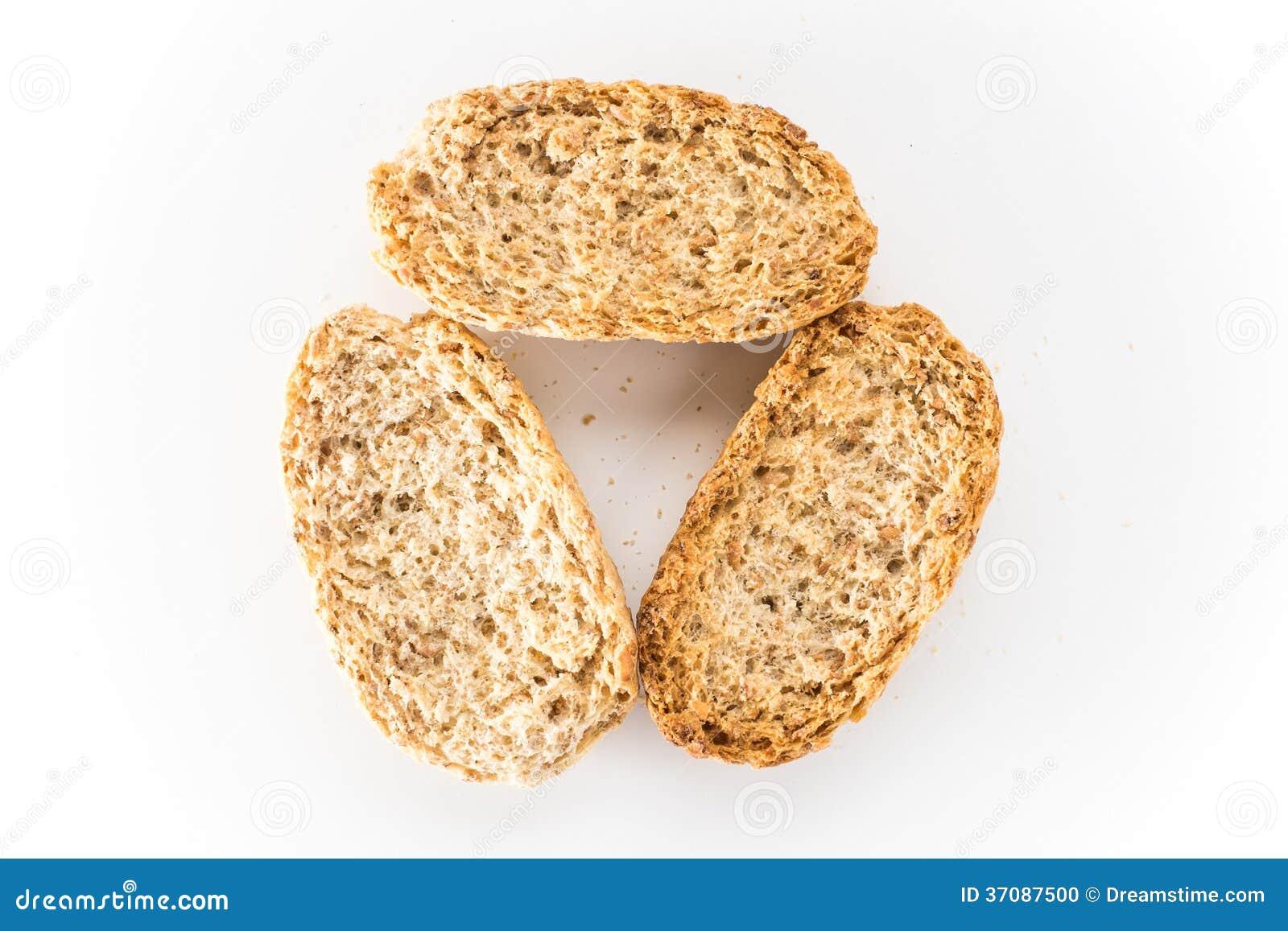 Download Wholewheat Chips W Bielu Odizolowywającym Zdjęcie Stock - Obraz złożonej z mąka, przekąska: 37087500