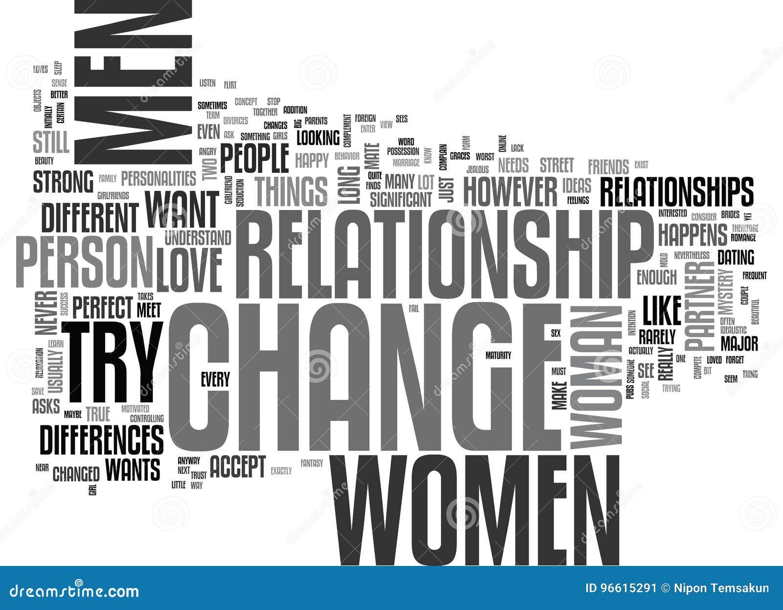 Why do women change