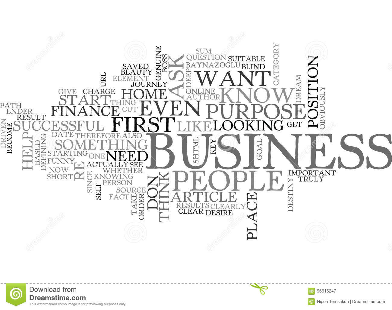 Why Do You Want To Start A Home Business Word Cloud Stock ...