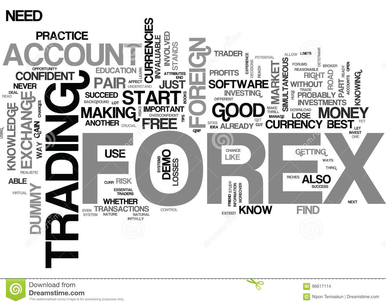 Why A Dummy Account Is The Forex Traders Best Friend Word Cloud