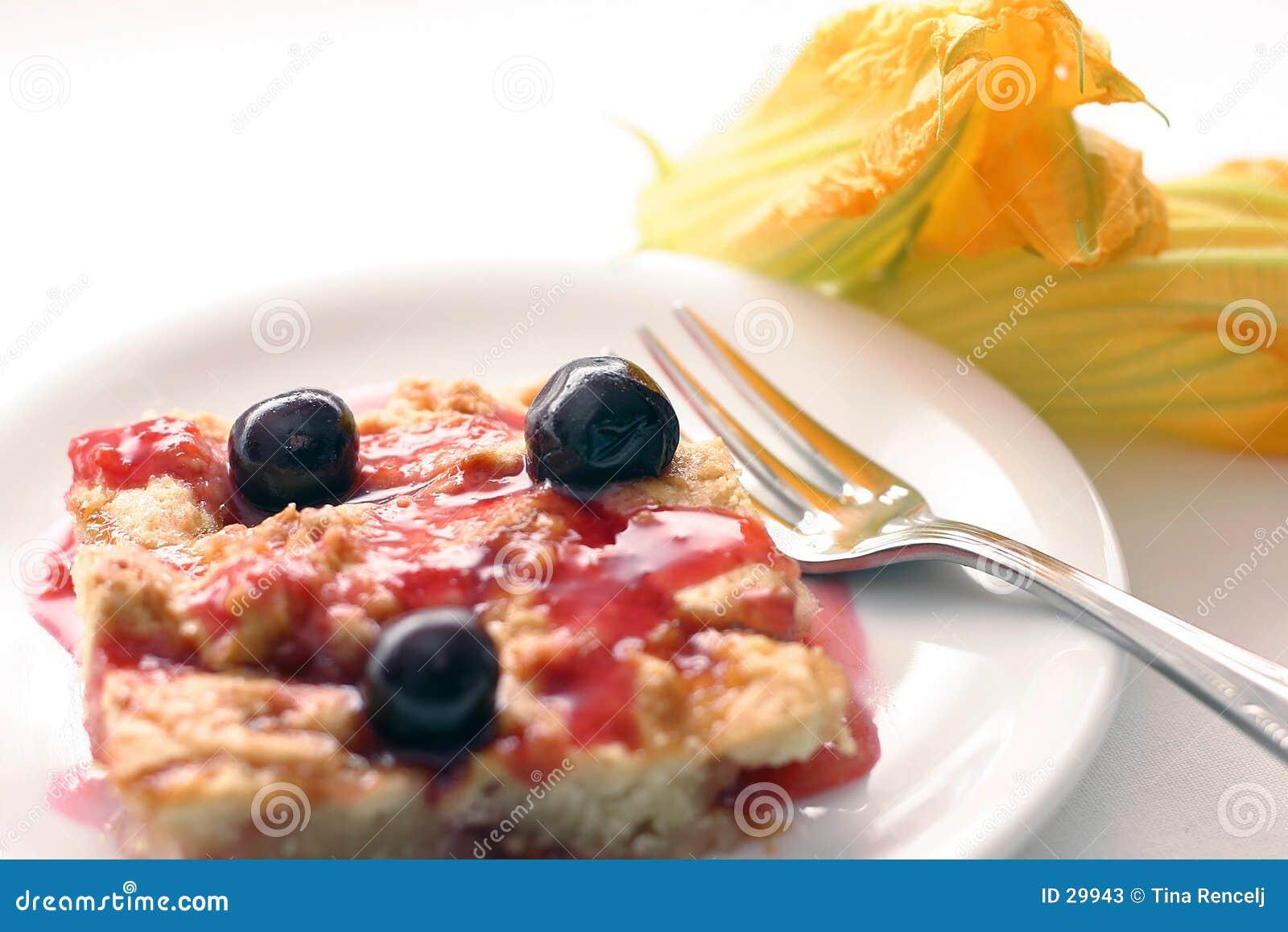 Wiśniowy placek ciasto ii
