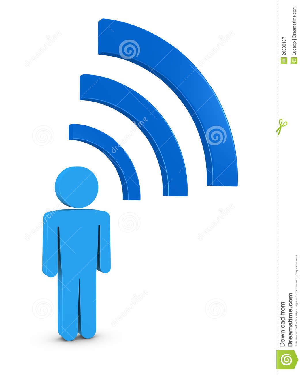 Wi Fi Connection Stock Illustration Illustration Of News 20030187