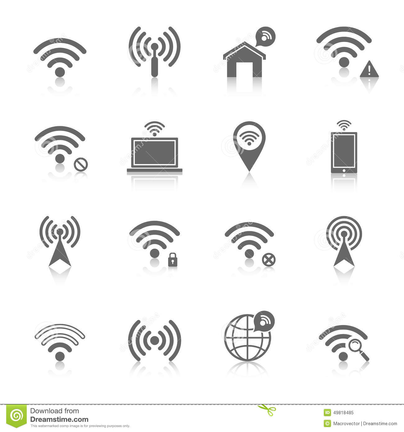 Wireless Access Point Symbol