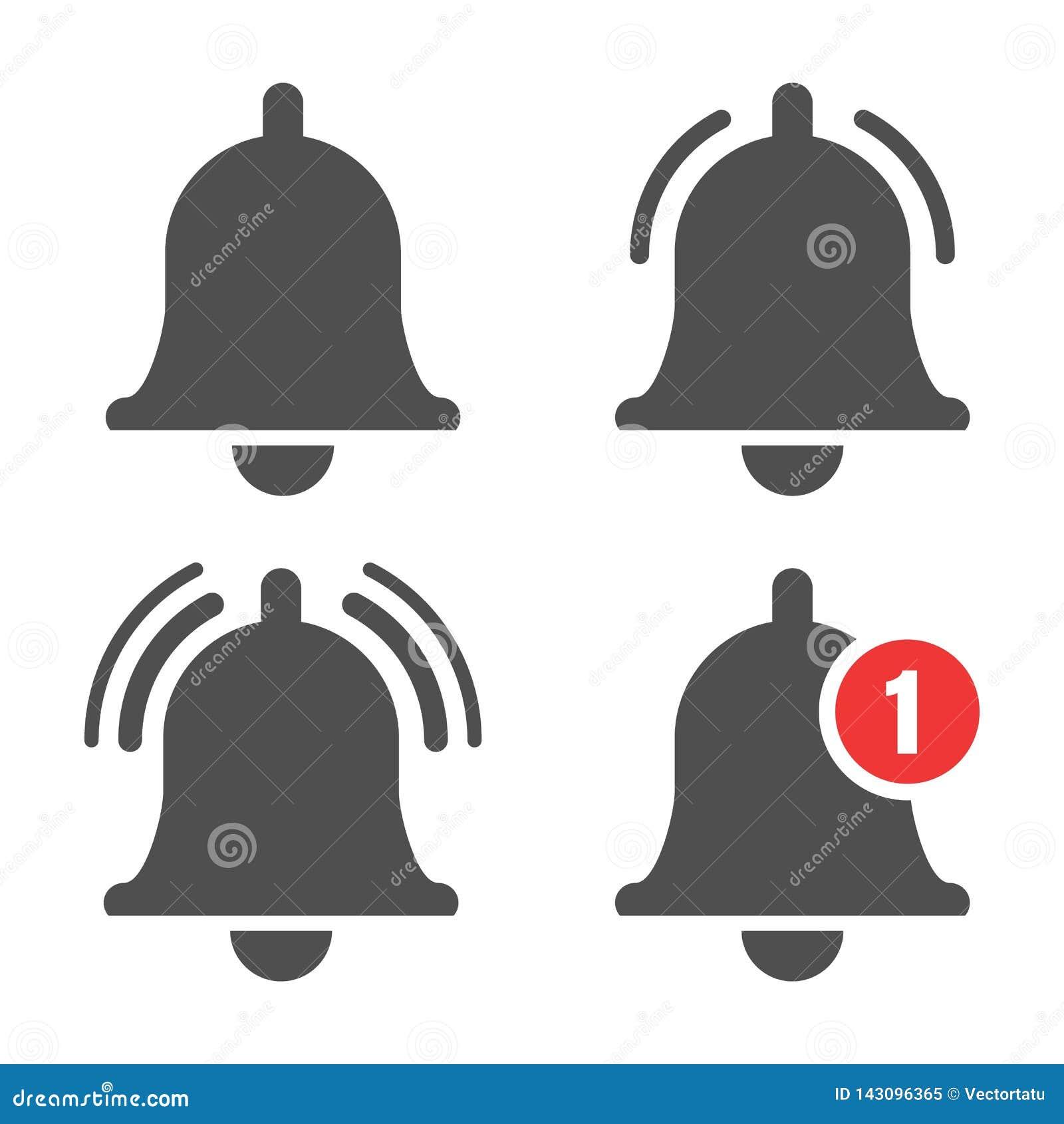 Wiadomość dzwonu ikona
