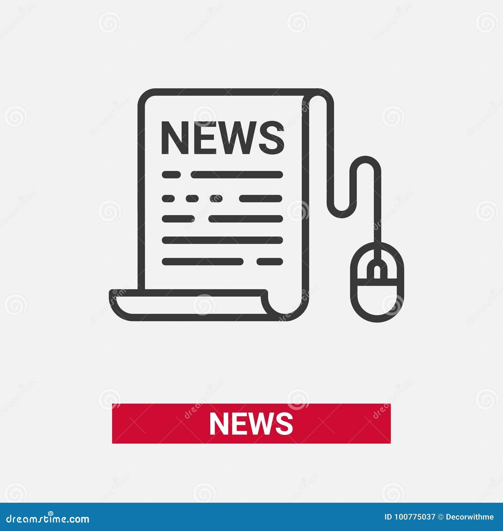 Wiadomość - nowożytnego wektor linii projekta pojedyncza ikona