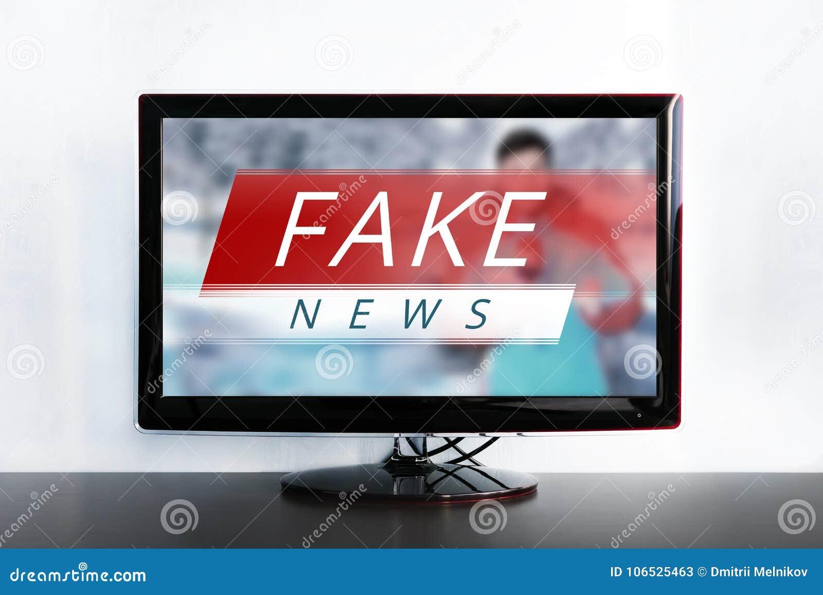 Wiadomości z fałszywą wiadomością