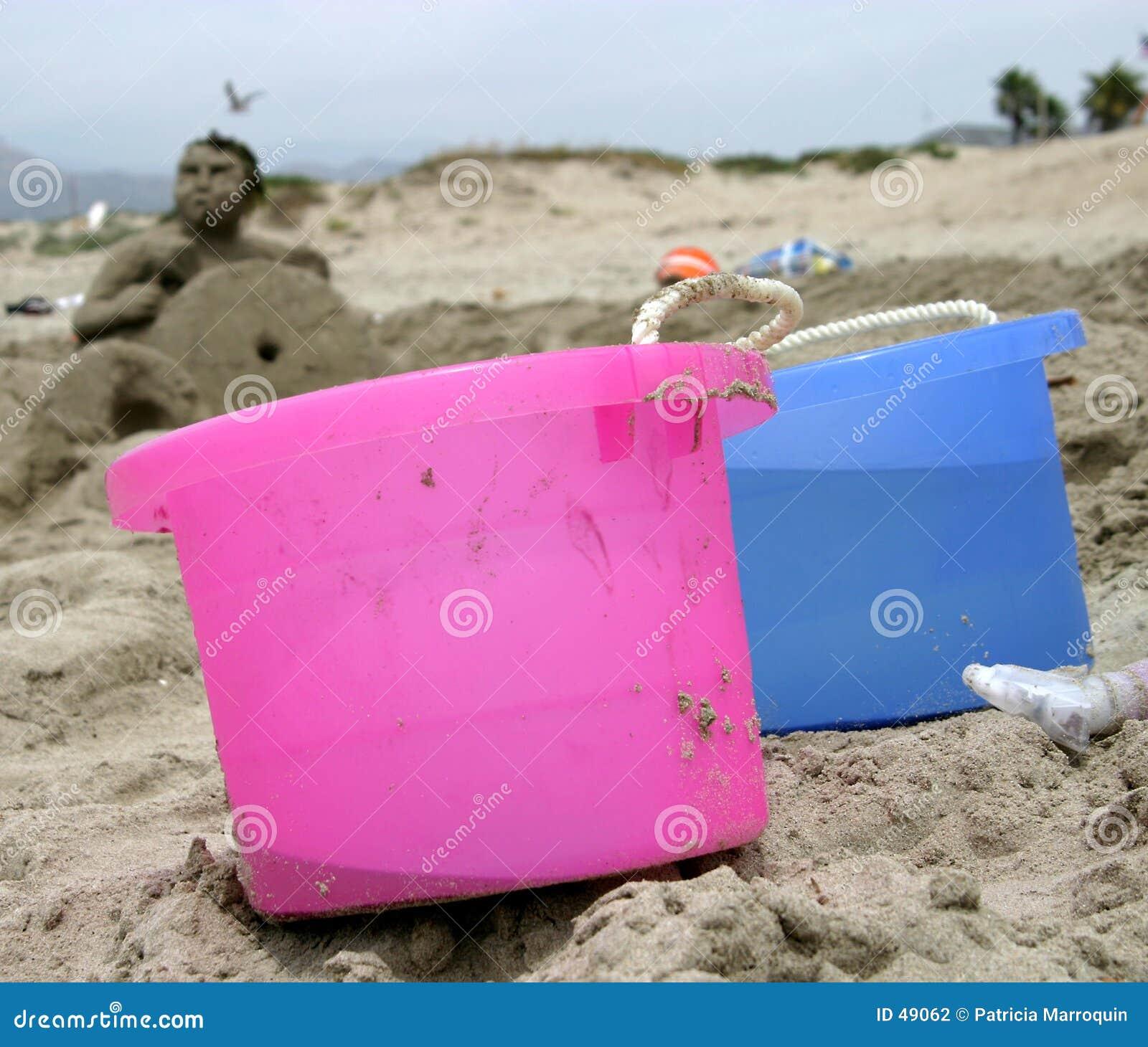Wiadro brygadowy piasku