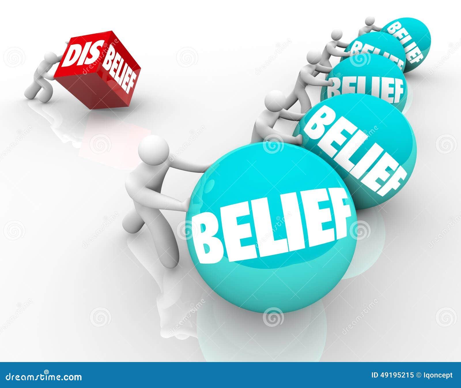 Wiara Vs niewiara niedowiarek Gubi Zaludniać z wiara sukcesem C