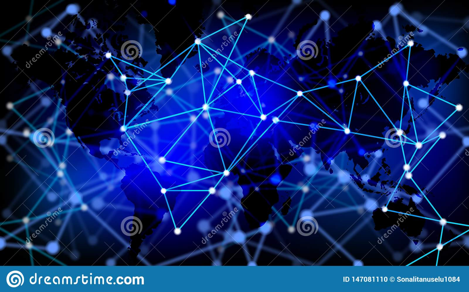 ?wiatowej technologii sztandaru Biznesowy t?o , futurystyczny tło, cyberprzestrzeni pojęcie