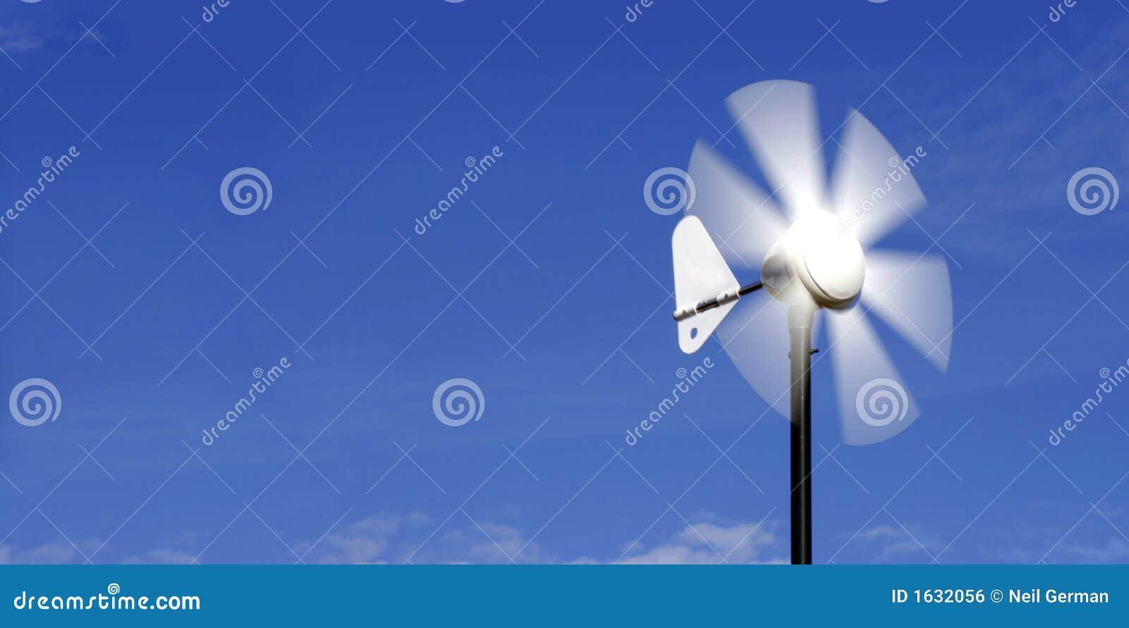 Wiatr energii alternatywnej vane.