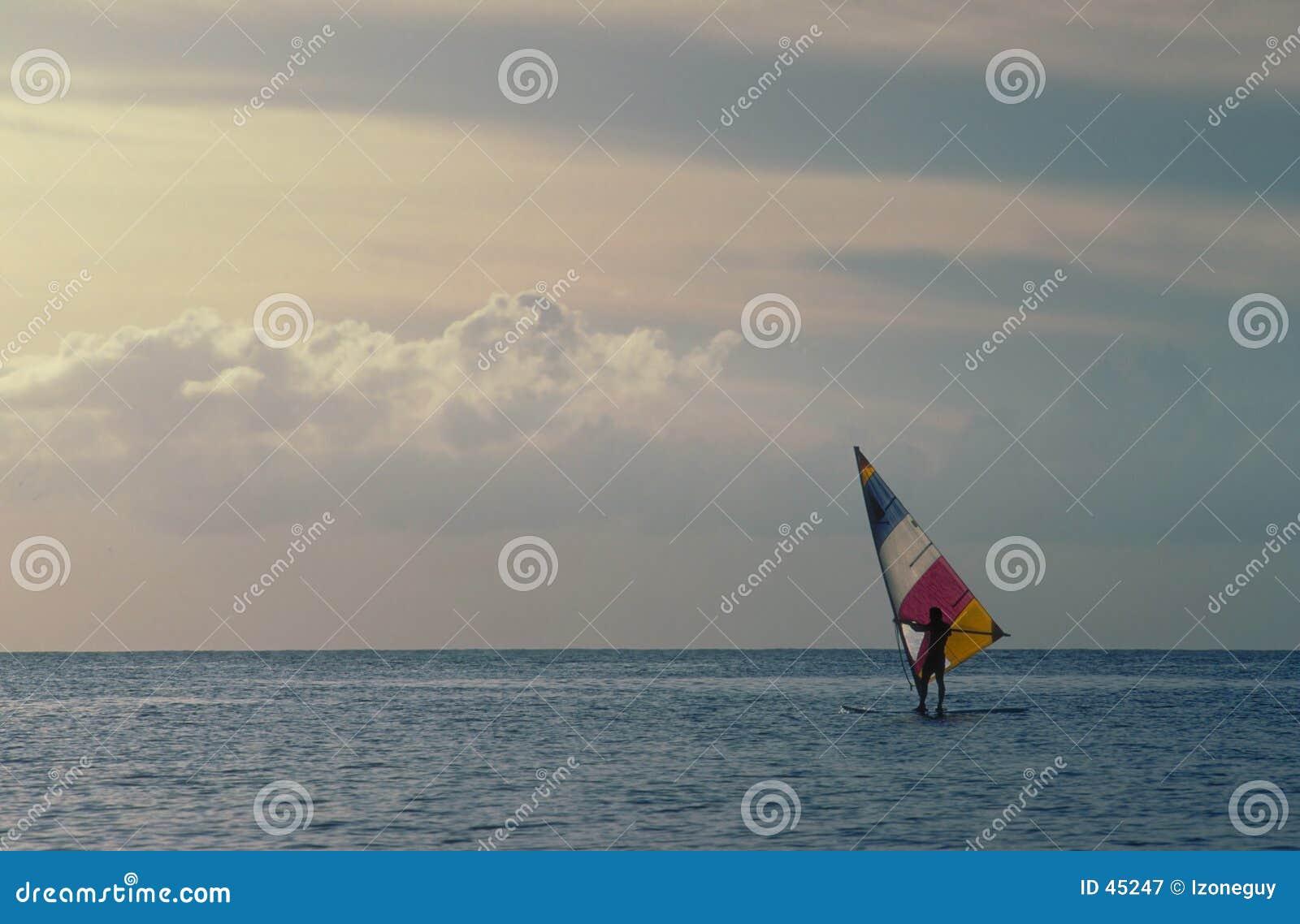 Wiatr surfera