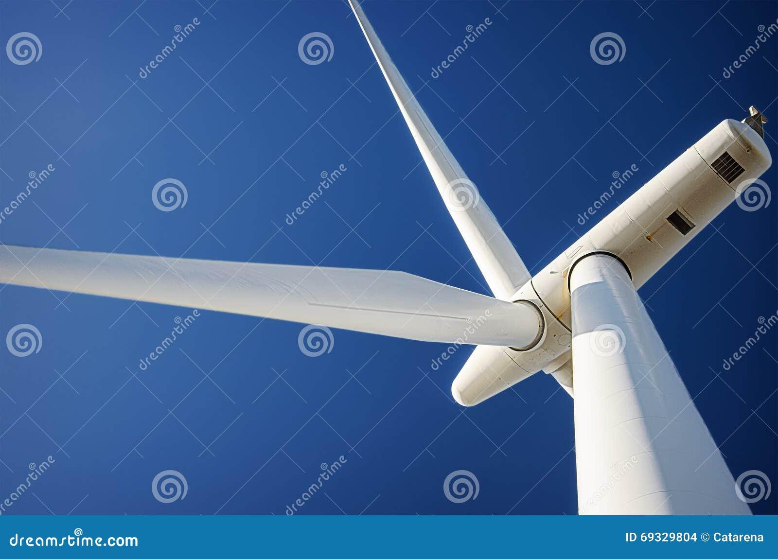 Wiatrowej energii turbina, ekologia