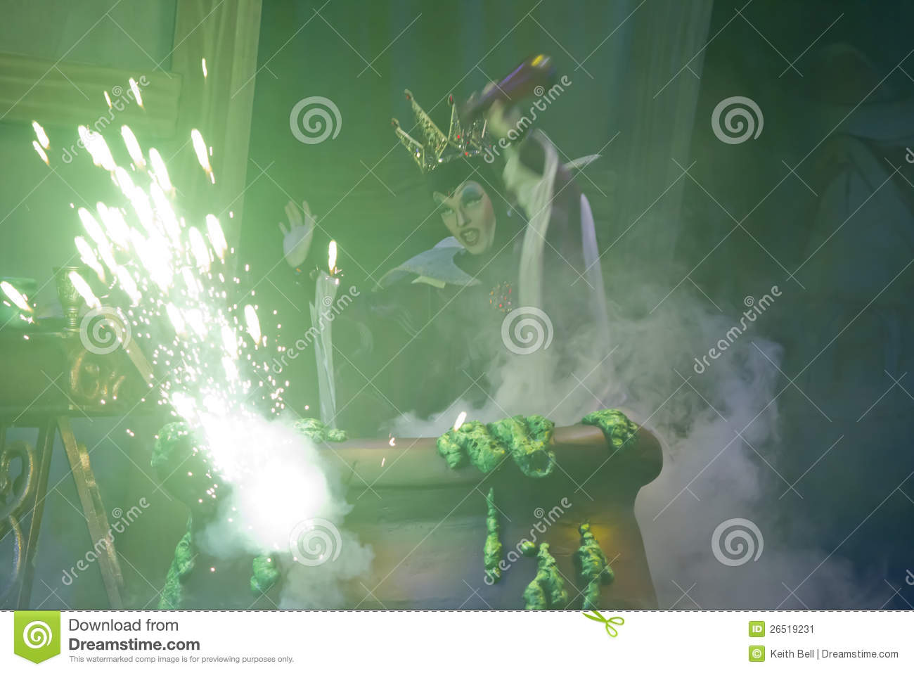 Sorceress casting spell opinion