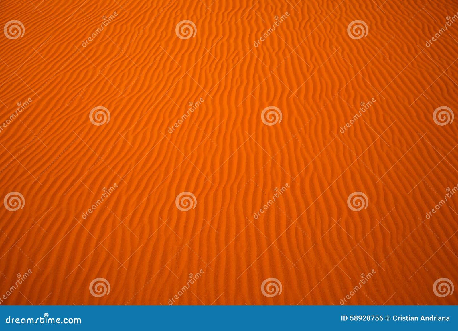 Wickeln Sie geschaffene Muster in den Sanddünen von Liwa-Oase, Vereinigte Arabische Emirate