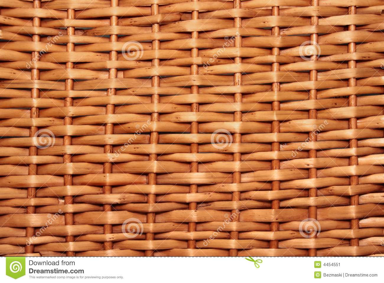 Wicker basket texture
