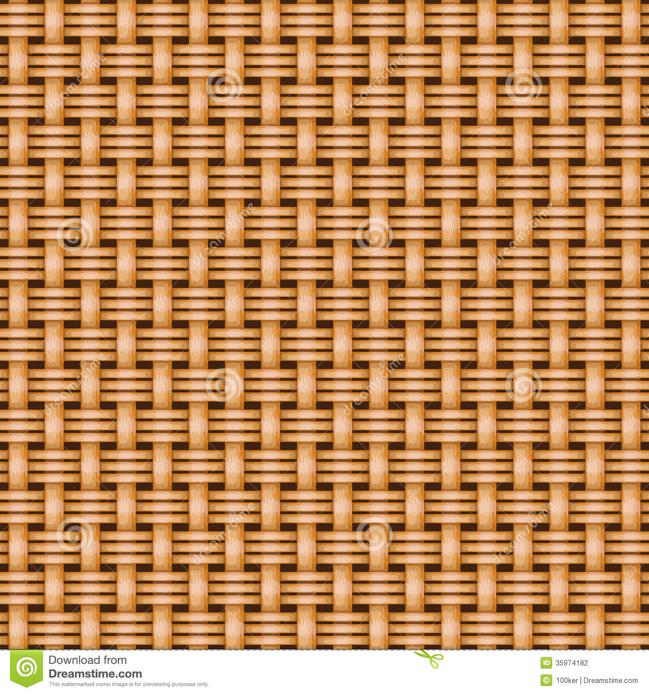 Rattan Basket Weaving Patterns : Wicker basket weaving pattern seamless texture stock