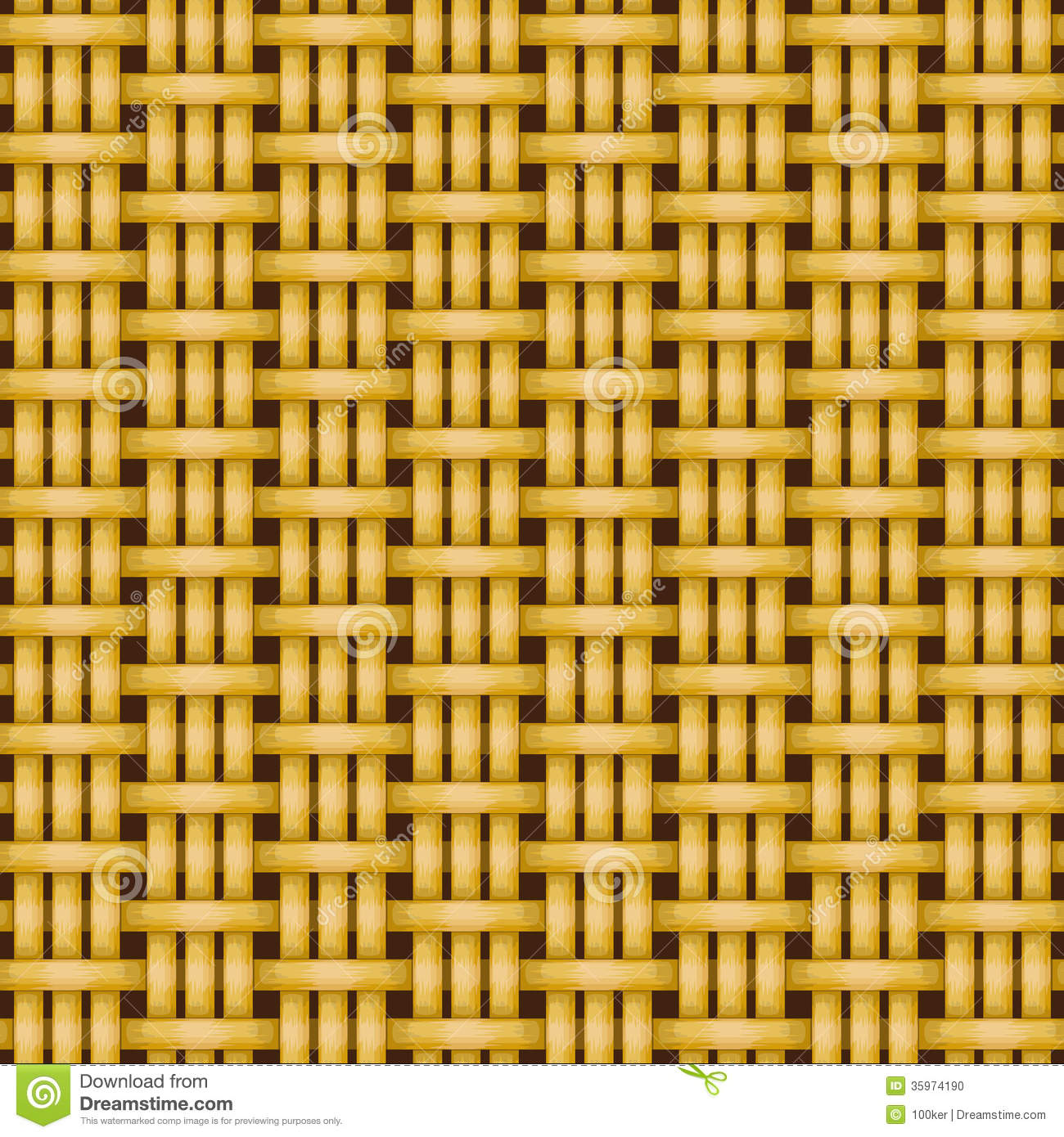 Rattan Basket Weaving Patterns : Wicker basket weaving pattern seamless texture stock photo