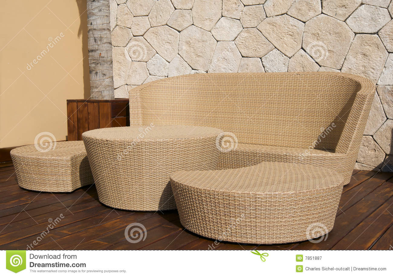 Wicker Furniture At Luxury Resort Royalty Free Stock Photography . Wicker  Outdoor Furniture Sunshine Coast ... Part 43