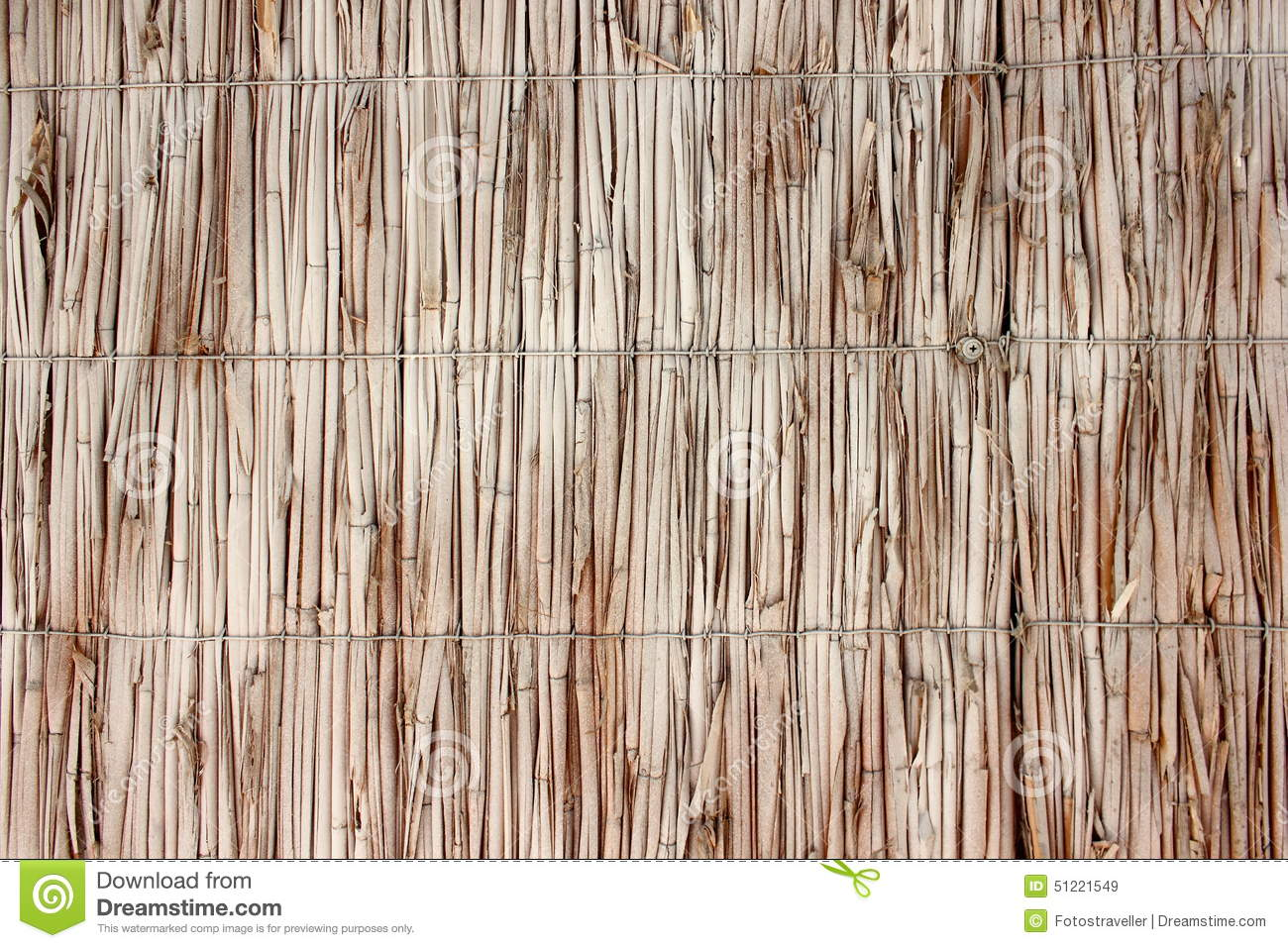 Wicker wall of reeds stock photo image 51221549 for Wicker reed