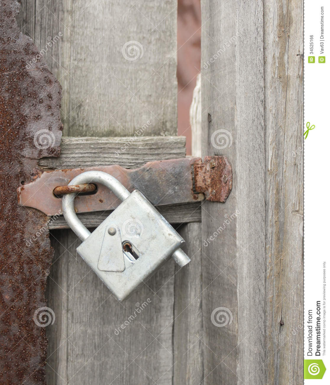 Decorating wicket door images : Wicket door with a padlock stock photo. Image of protection - 34525166
