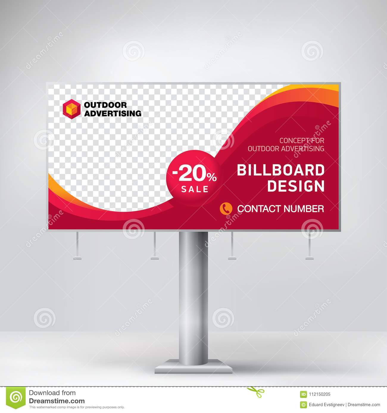 Billboard Design, A Universal Template For Placement Advertising ...