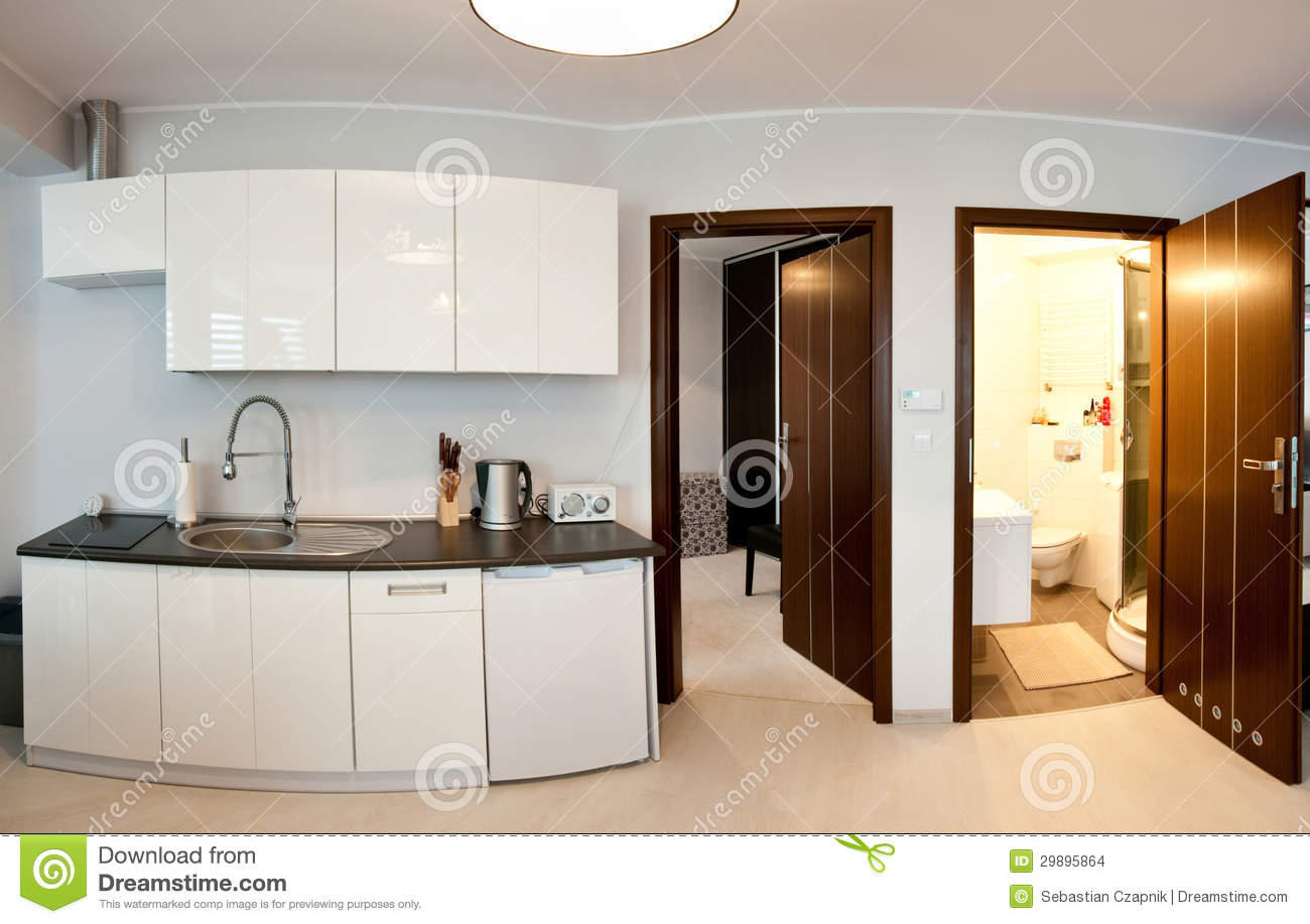 Kitchen And Bathroom Kitchen And Bathroom Stock Images Image 29895864