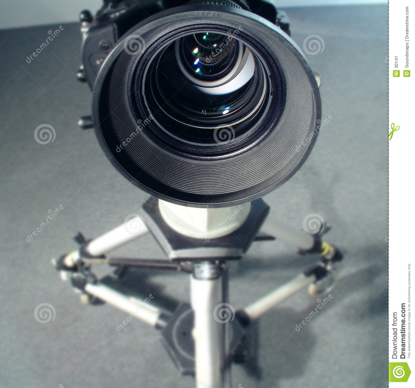 Wide Angle video lens view