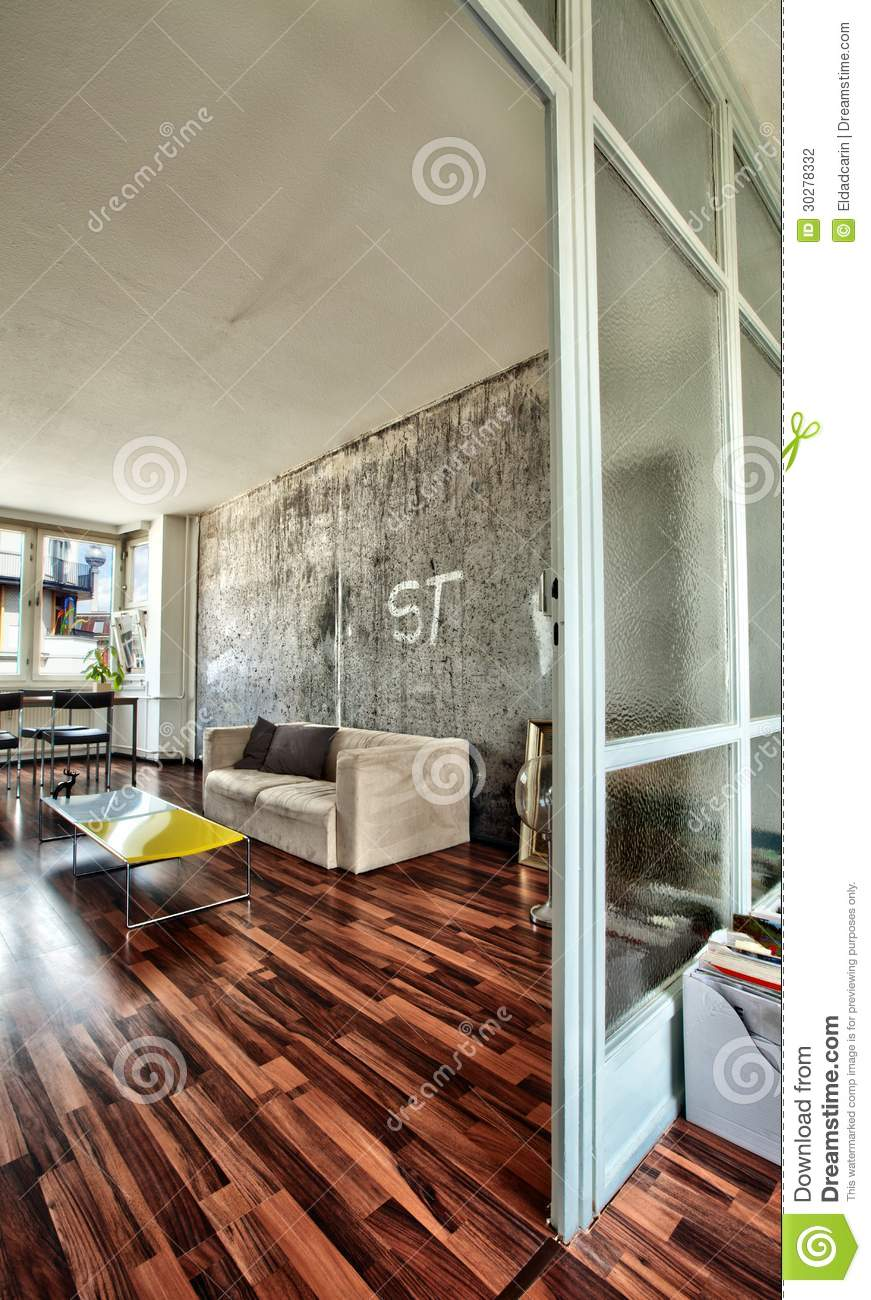 Berlin Apartment Living Room Stock Photography - Image ...