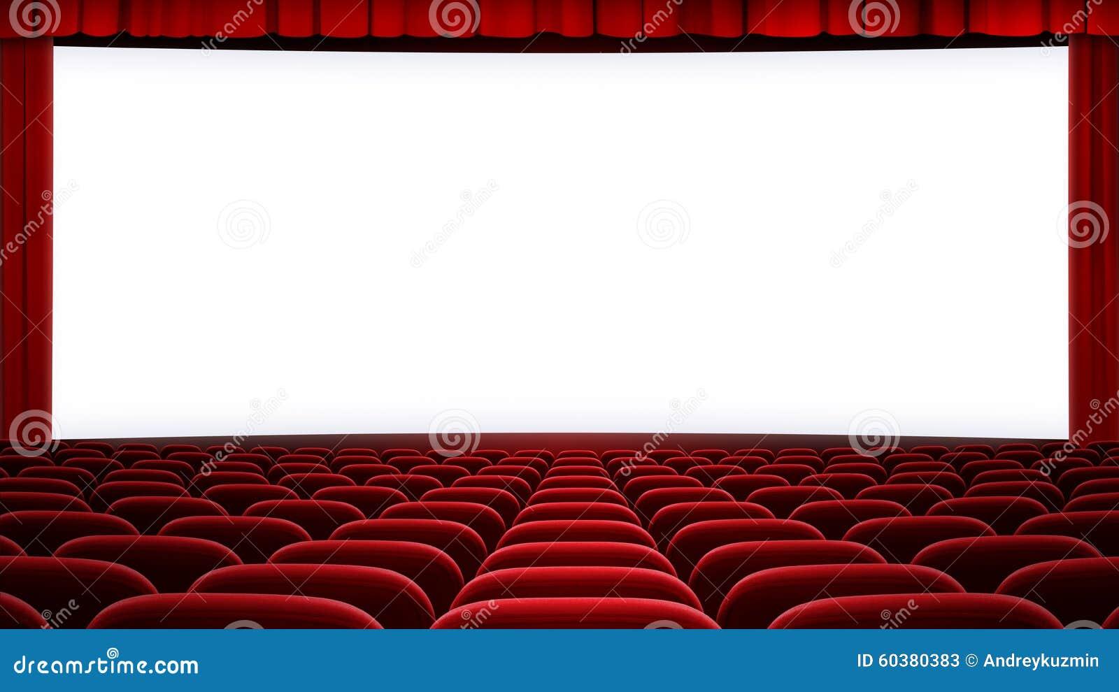 Wide Cinema Screen Backgound Aspect Ratio 16 9 Stock