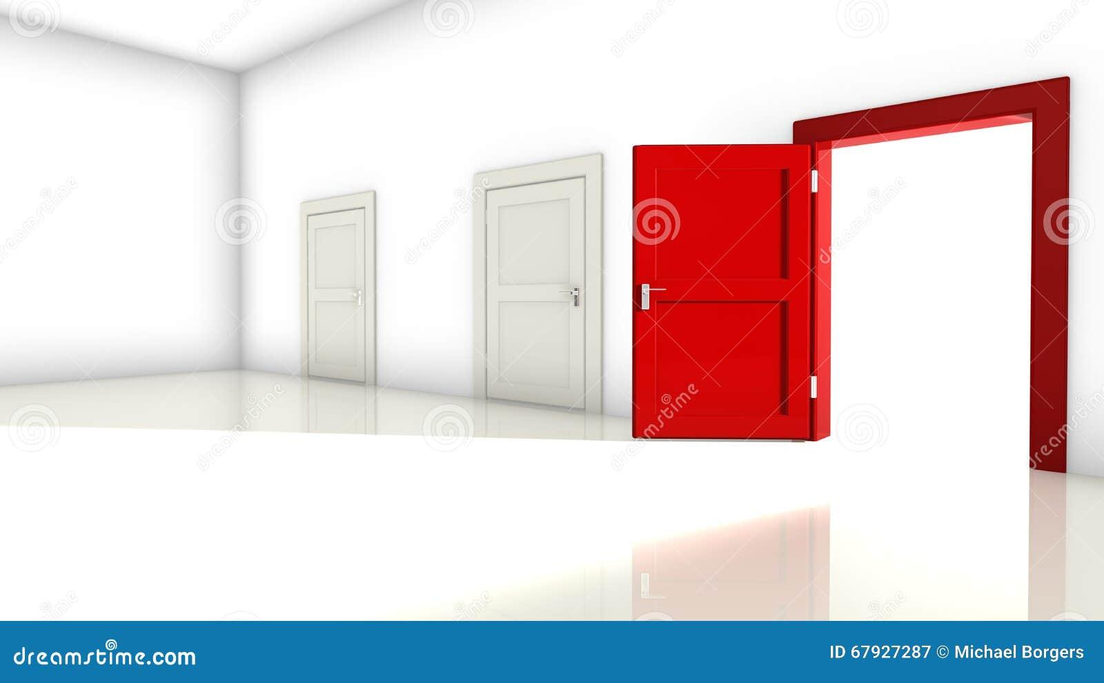 wide open doors. Plain Open Wide Open Red Door For Open Doors