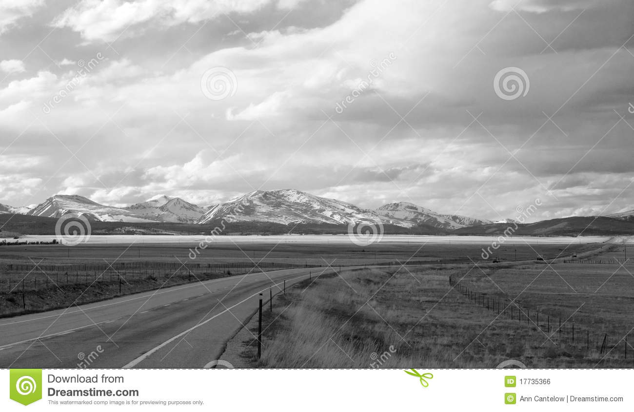 Wide Black Handle Closed Round Stainless Pot Stock Image Open Road Wallpaper