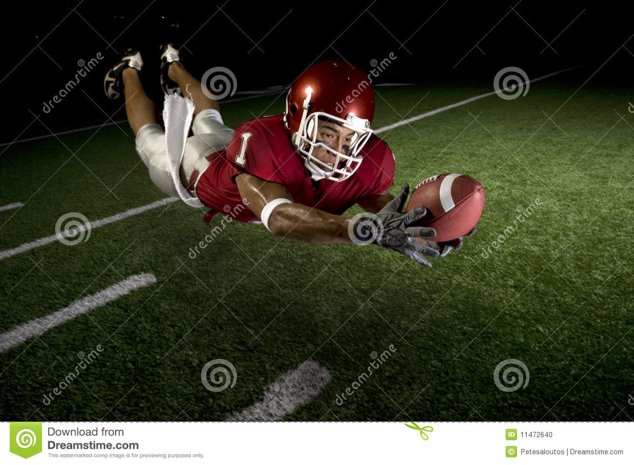 wide receiver making a diving catch stock photo image clip art football borders clip art football game