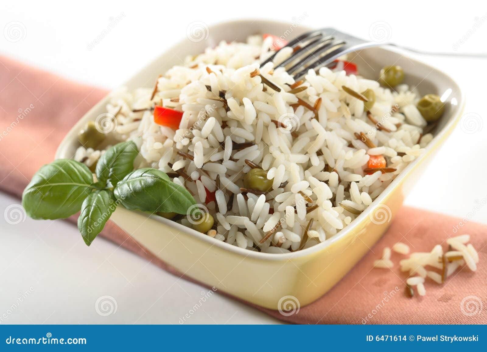 Widelce miski ryżu