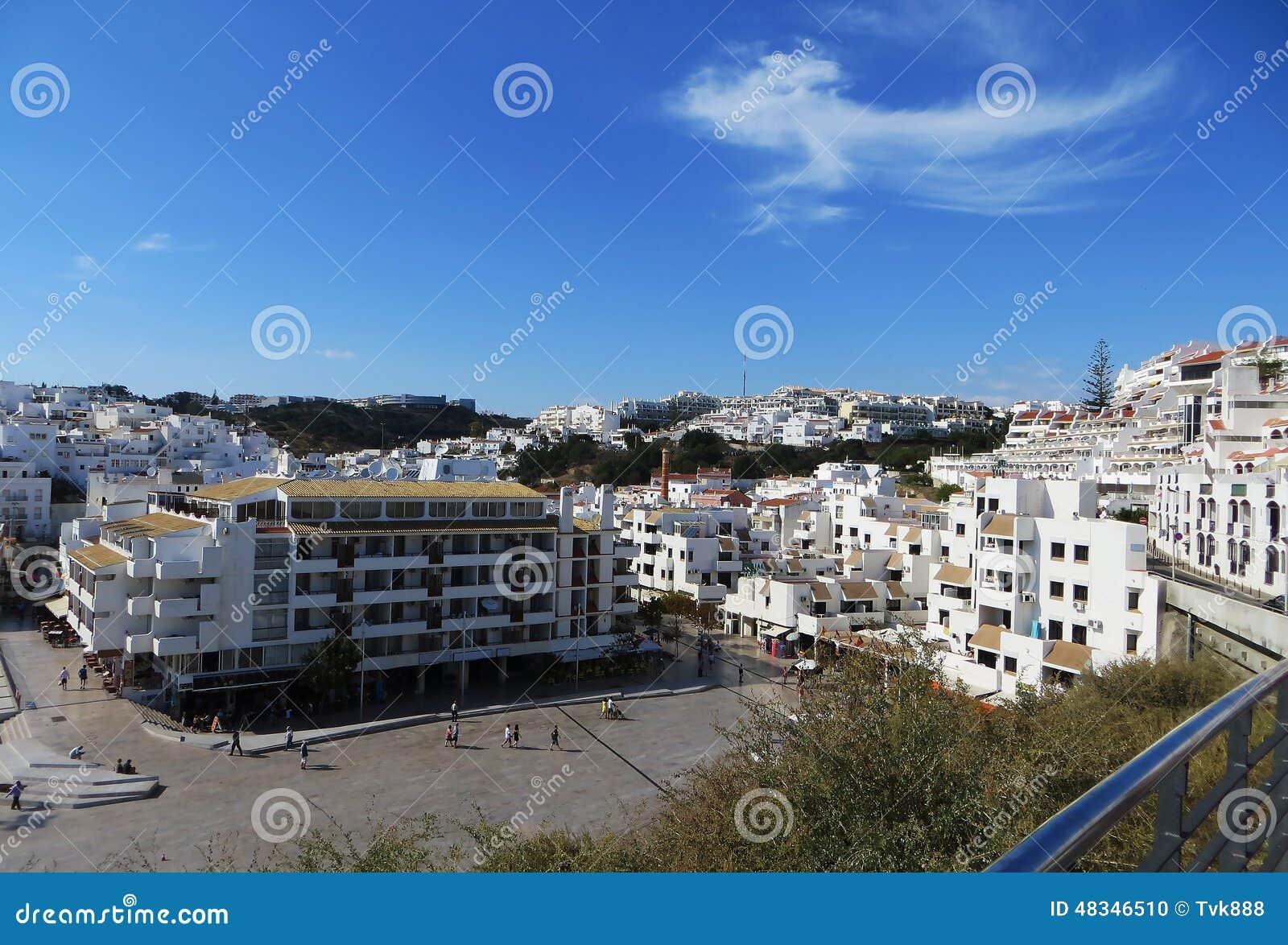 Widok Albufeira, Portugalia