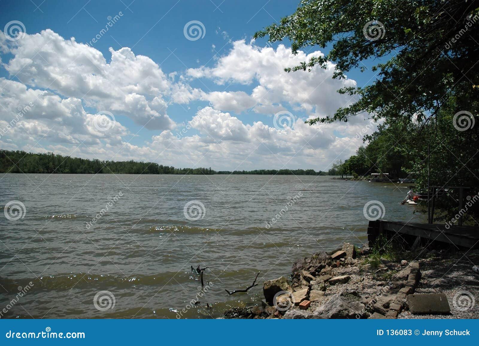 Widok jeziora