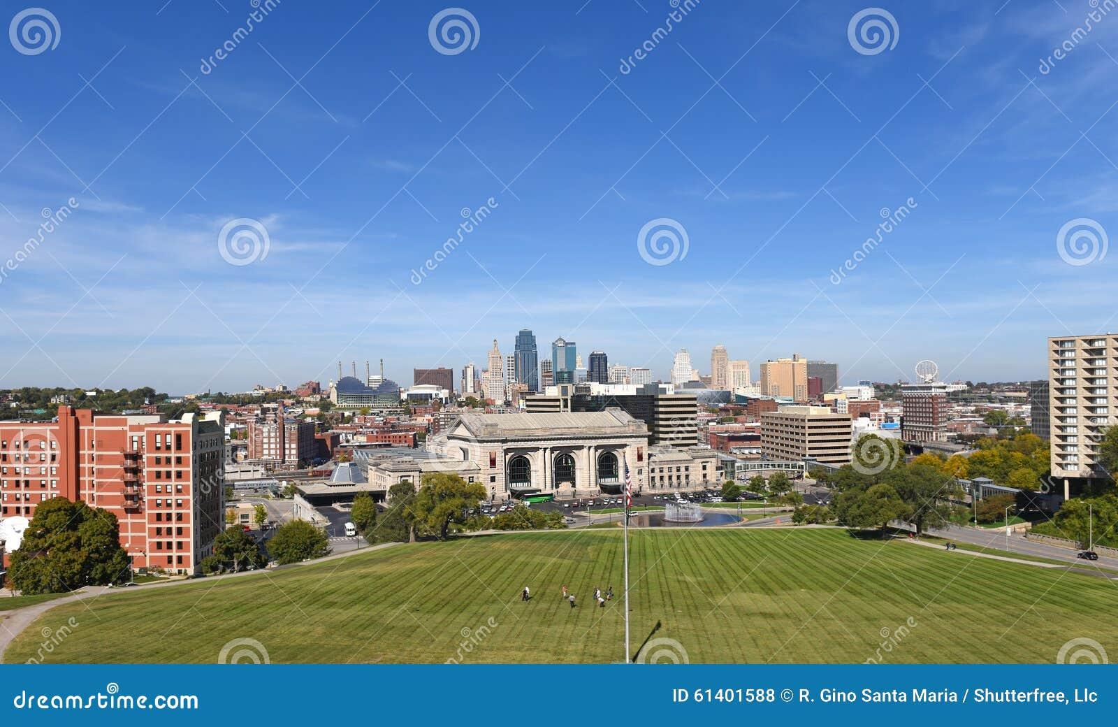 Widok Kansas City Missouri