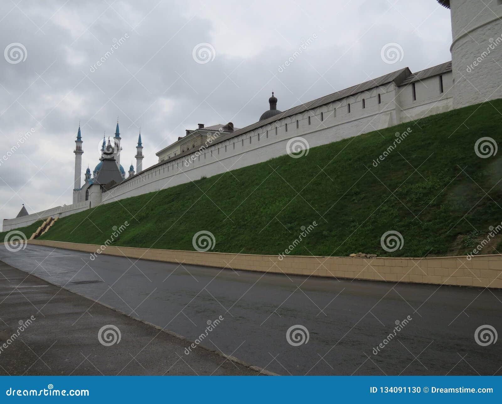Widok Kazan Kremlowski Kazan, Rosja