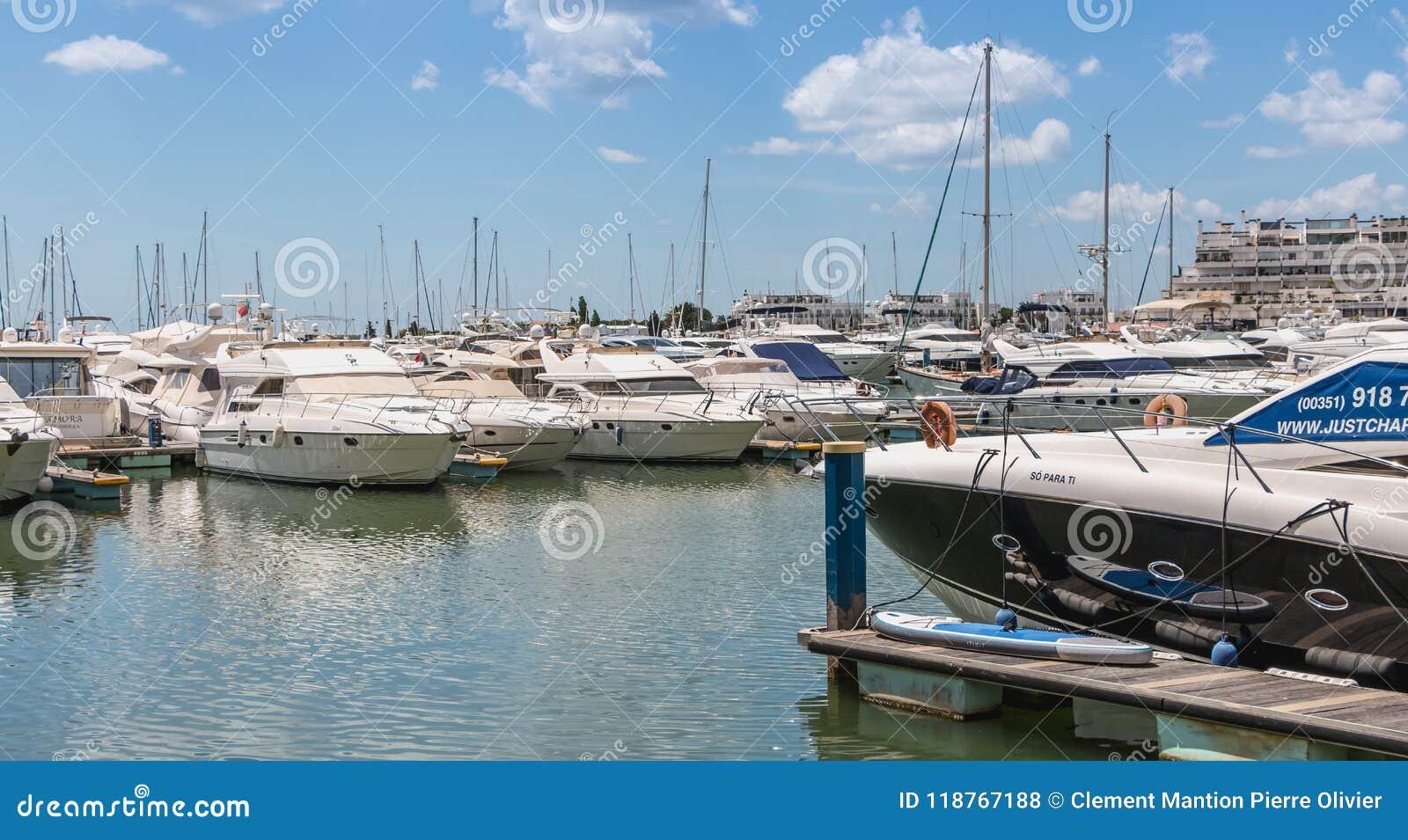 Widok luksusowy marina Vilamoura