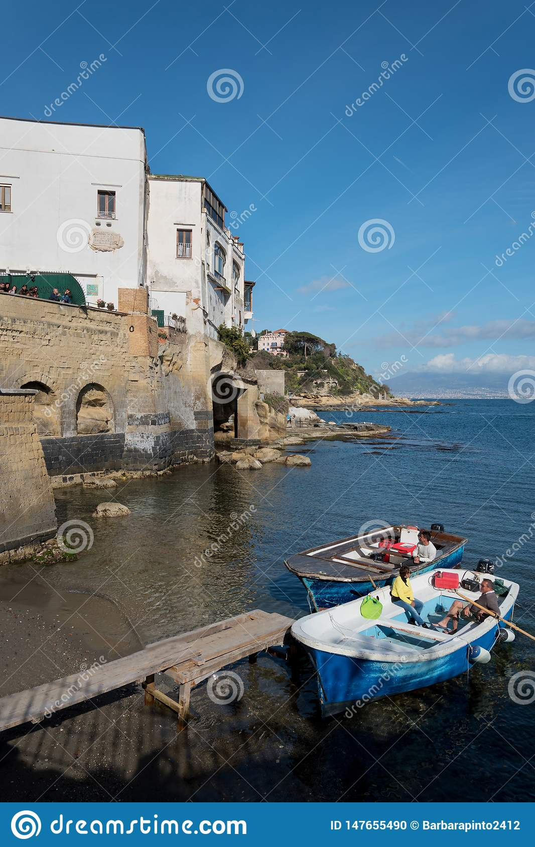 Widok Marechiaro w Posillipo, Naples