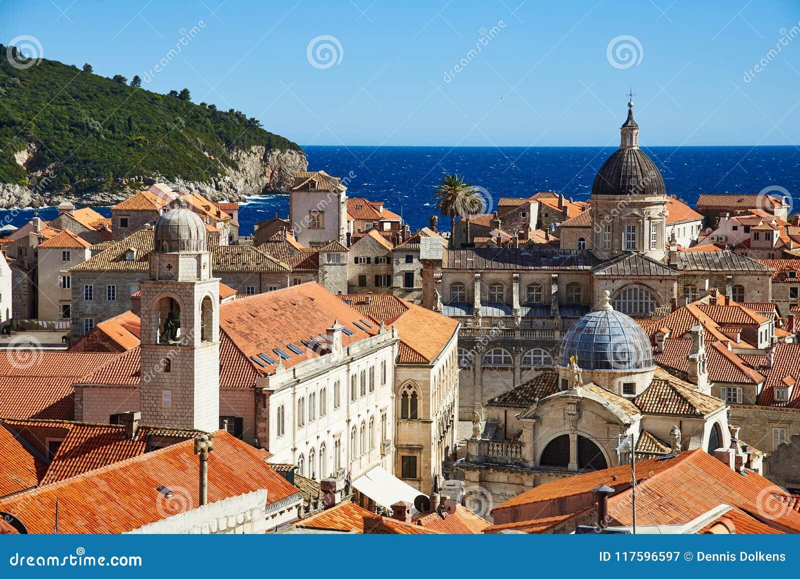Widok na katedrze Dubrovnik
