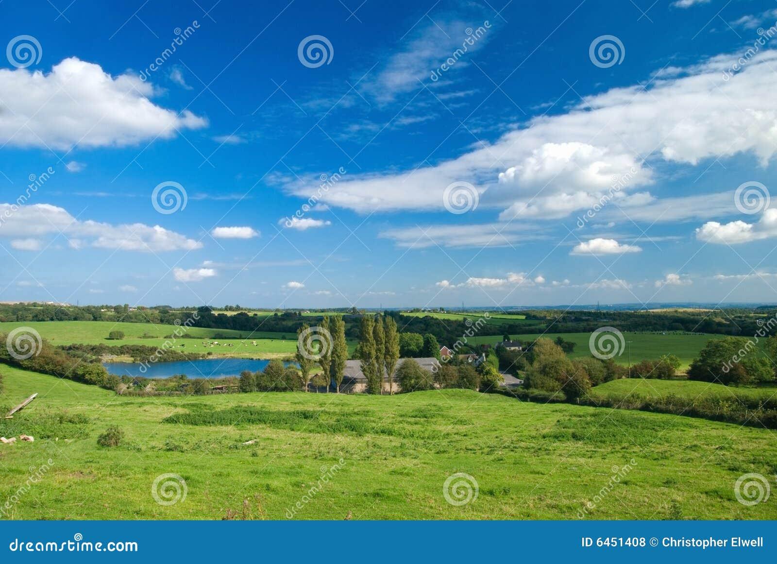 Widok na obszarach wiejskich