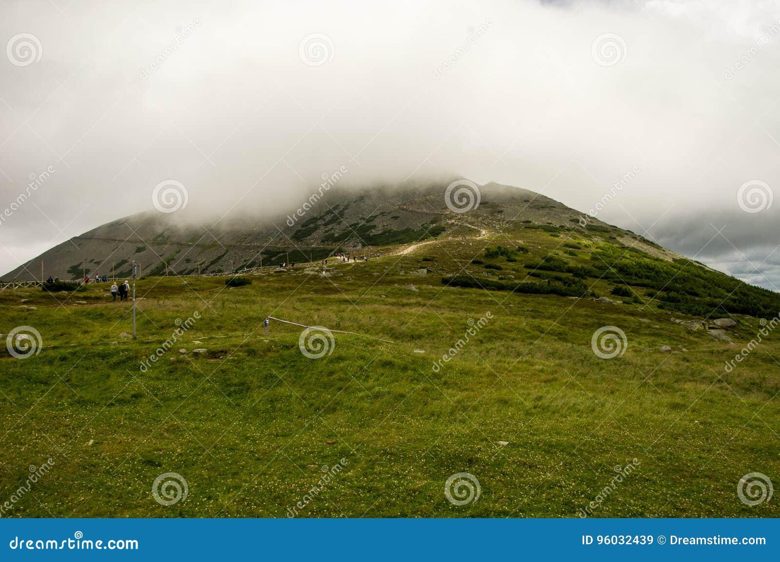 Widok na sposobie ÅšnieÅ ¼ ka, Gigantyczne góry, Polska