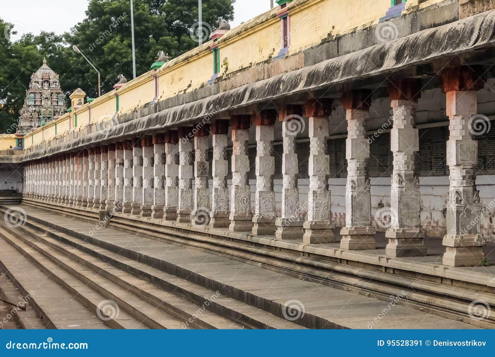 Widok Nataraja świątynia, Chidambaram, India