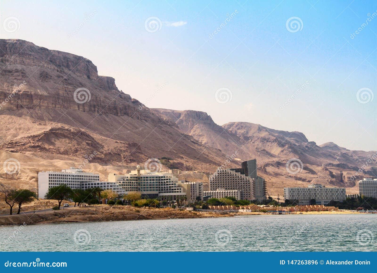 Widok Nieżywego morza hotele
