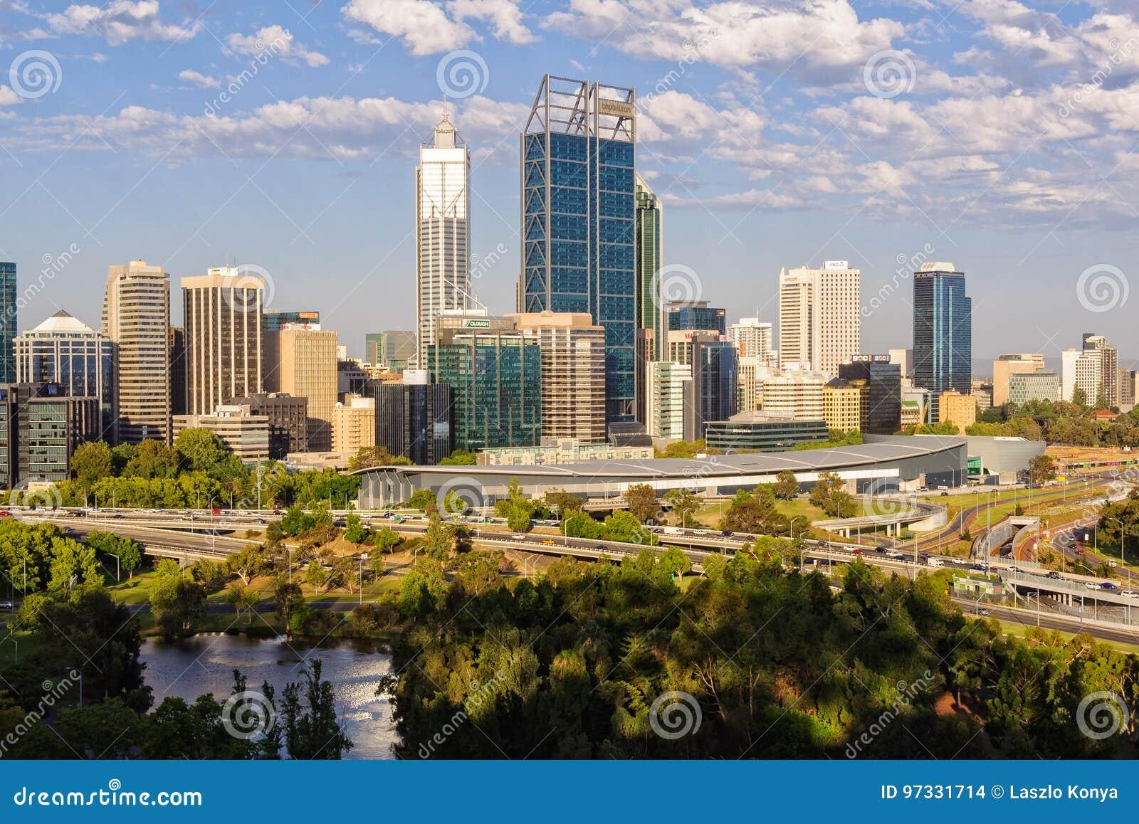 Widok od królewiątko parka - Perth