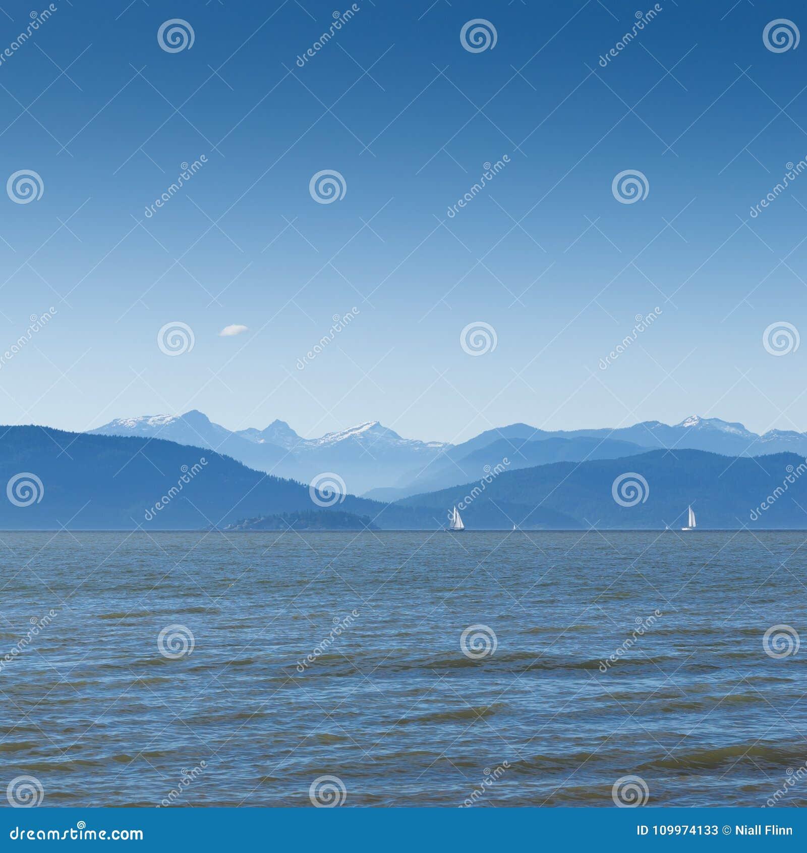Widok północ Od wrak plaży