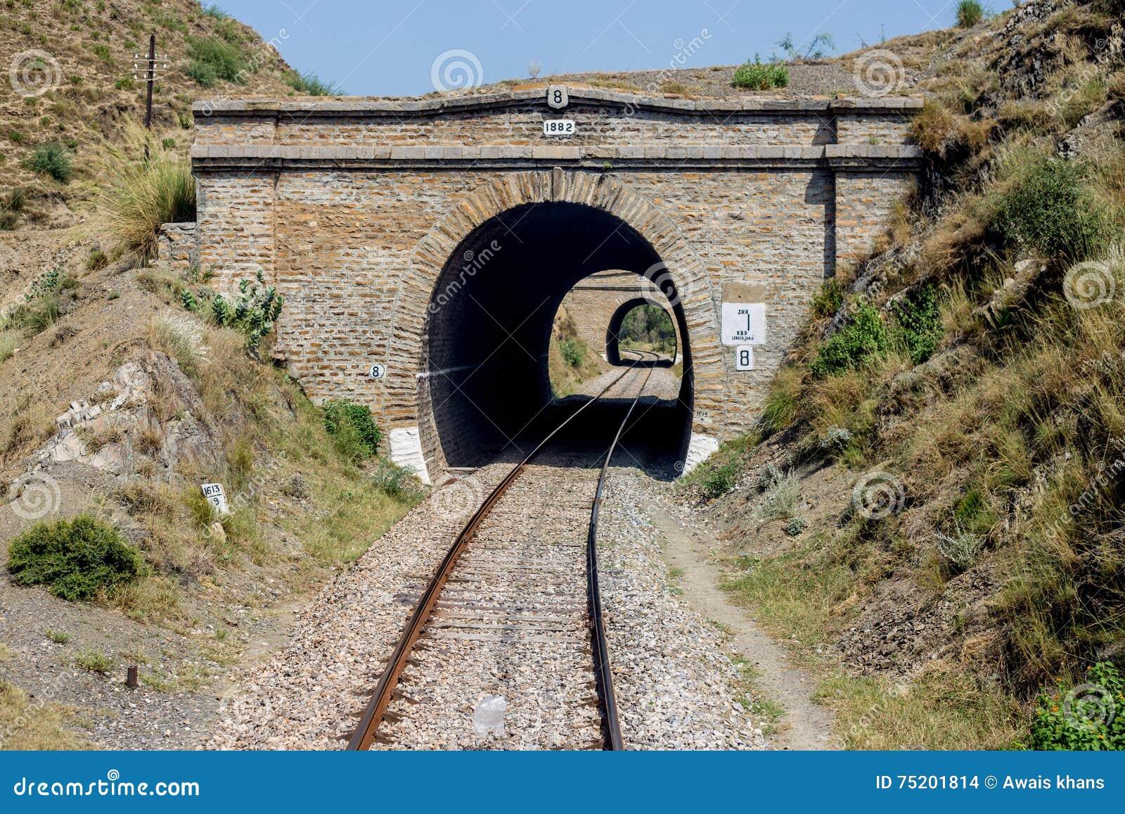 Widok Pakistan linii kolejowej most żadny: 8 Nowshera swabi szalenie