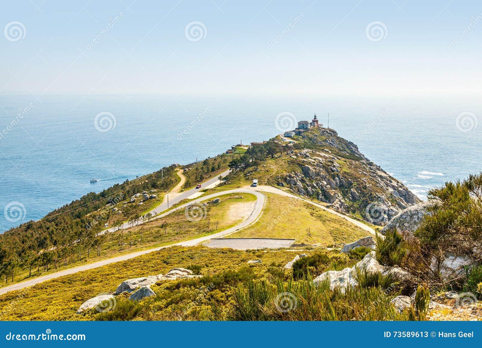 Widok przylądek Finisterre
